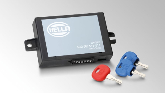 HELLA electronic immobilizer for agricultural and forestry machinery