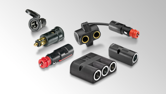 HELLA offers various plug connectors for agricultural machinery.