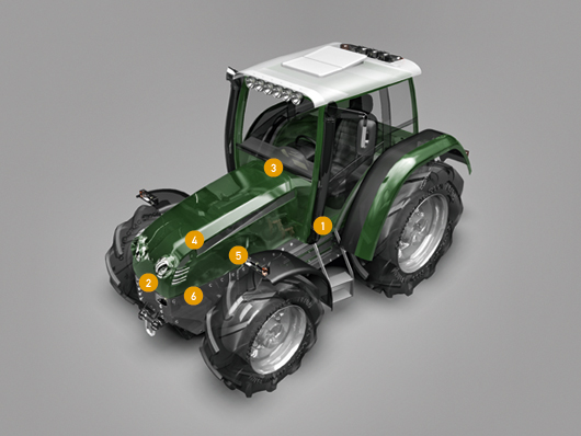 Click here to learn more about HELLA electronic products for agricultural vehicles