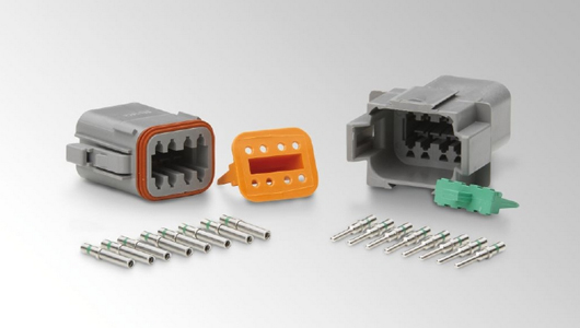 "HELLA DEUTSCH ""DT series"" plug connectors"