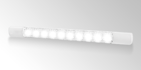 Slim LED awning lamp from HELLA.