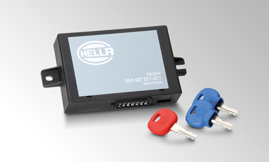 Safe highlight: The electronic immobilizers from HELLA