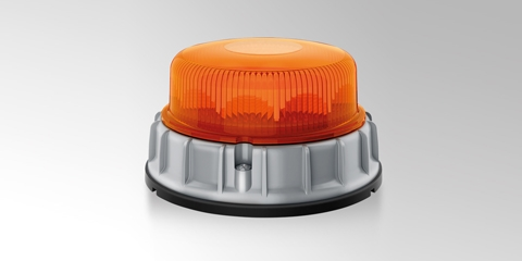 Led-signaallamp – roteert of flitst.