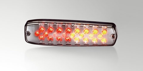 Flat LED rear combination lamp