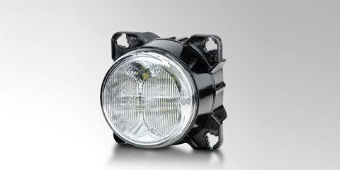 The high-power M90i LED work light from HELLA.