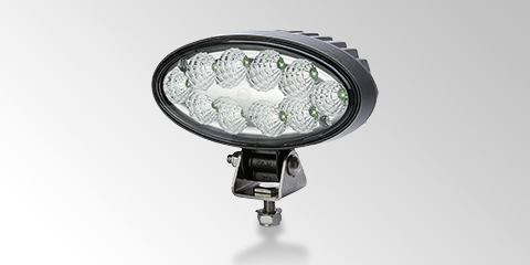 Oval 90 LED, the compact LED work light from HELLA.