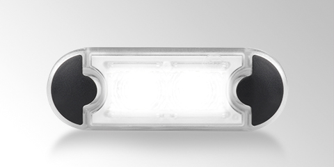 Slim, lightweight and maintenance-free DuraLED position and clearance lights from HELLA