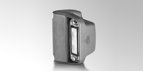 Reliable LED license plate light for surface mounting from HELLA