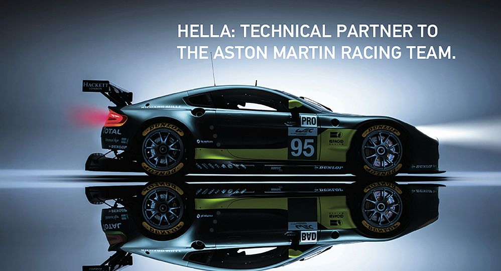 Aston Martin Racing and HELLA – a successful partnership.