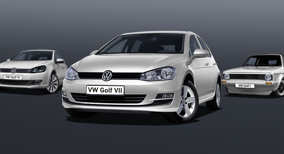 HELLA and the VW Golf: Discover our interactive timeline!