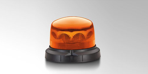 Flat and compact KLX 1 LED beacon from HELLA.