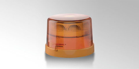 KL 7000 rotating beacon, amber, from HELLA