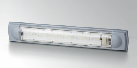 Innovative LED surface-mounted lamp from HELLA.__Innovative LED surface-mounted lamp from HELLA.