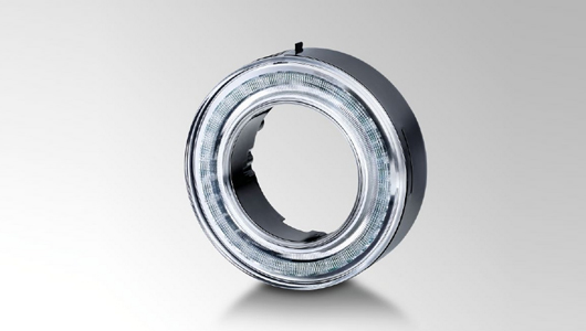 Innovative LED circular ring module from HELLA.