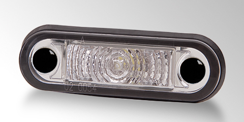 Powerful LED position light from HELLA.
