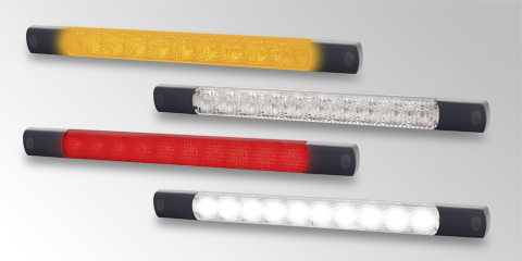 Robust and powerful LED signal light, from HELLA.