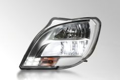 First Headlamp with LED Main Beam Function for the Truck Segment