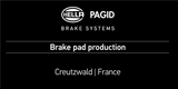 HELLA PAGID BRAKE SYSTEMS Production Video