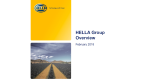 HELLA Group at Glance