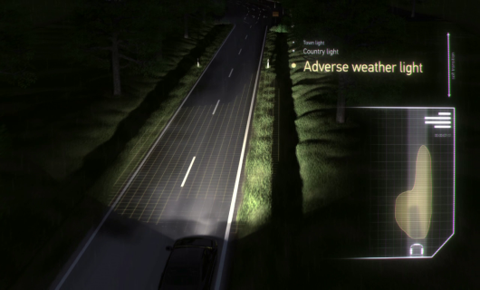 Adaptive Frontlighting System Adverse weather light