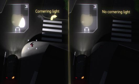 Adaptive Frontlighting System Town light