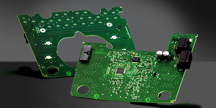 Printed Circuit Boards for roof console (Bentley Mulsanne)