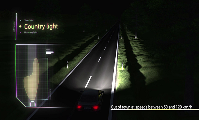 Adaptive Frontlighting System Country Light