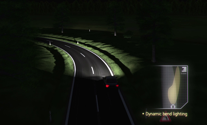 Adaptive Frontlighting System Dynamic Bend Light1
