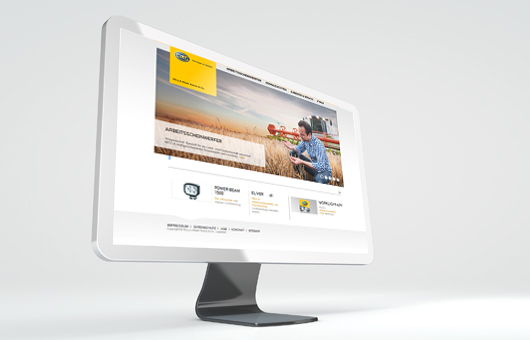 microsite for Agriculture