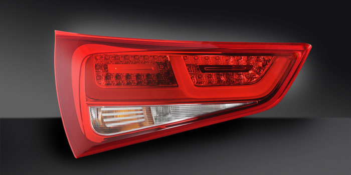 Combination rear lamp with LED functions, Audi A1