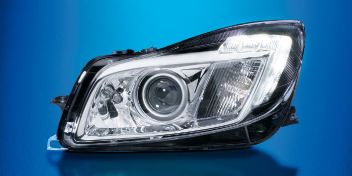 Xenon headlamp with AFS functions, Opel Insignia