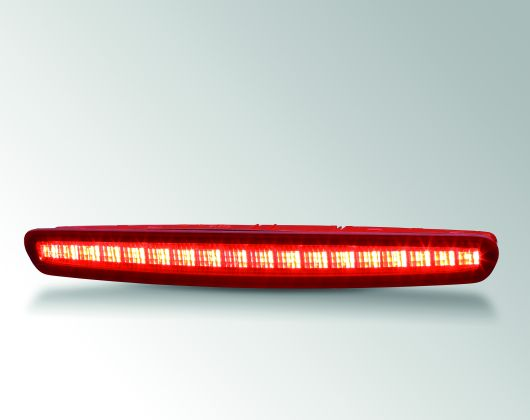 Center high mounted stop lamp with massive light guide, Opel Cascada