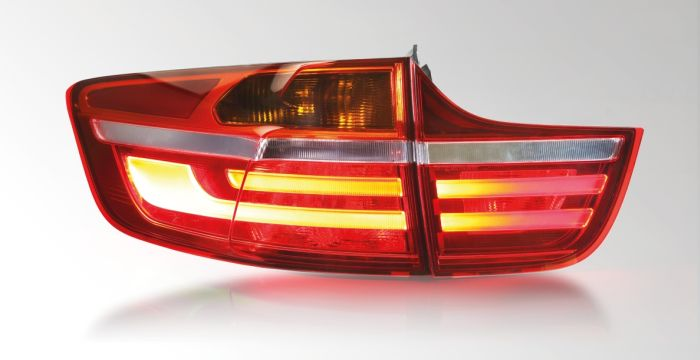 Combination rear lamp with LED functions,BMW X6