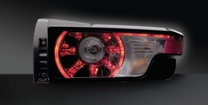 Combination rear lamp with LED functions,Land Rover Evoque