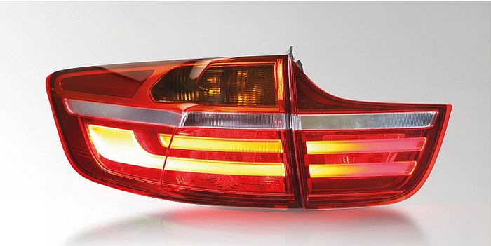 Combination rear lamp with LED functions, Land-Rover Evoque