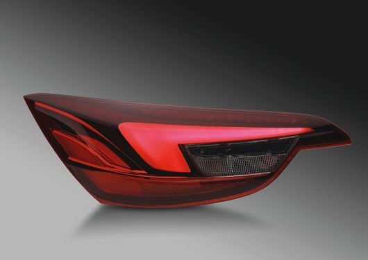 Combination rear lamp with glowing body, Opel Cascada
