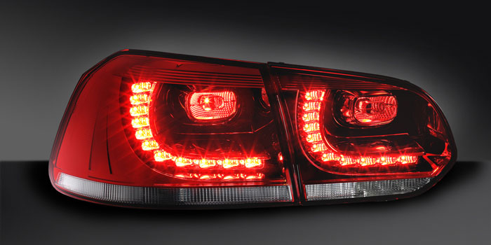 Combination rear lamp with LED functions, VW Golf VI