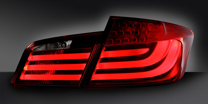 Combination rear lamp with LED functions, BMW F 10