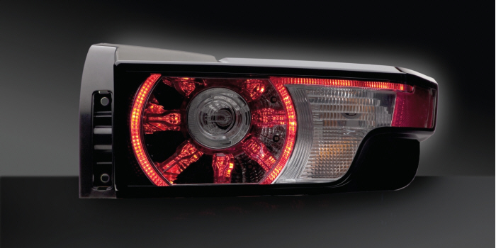 Combination rear lamp with LED functions, BMW X6