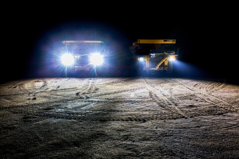 Haul Truck lighting system: HELLA ZEROGLARE