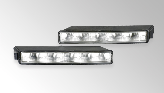 the ledayline daytime running light by hella combines linear design with  state-of-the-art technology  this led daytime running light set with  integrated