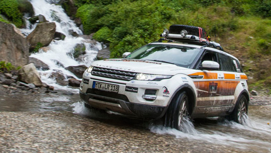 Land Rover Experience Tour 2013