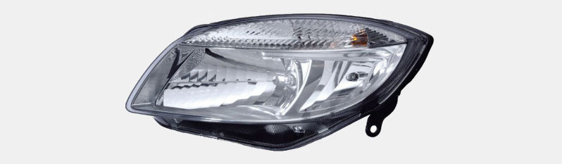 Headlight lens components, types & regulations   A on