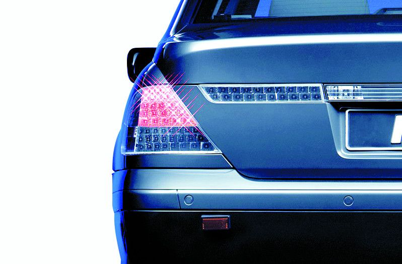 Adaptive Signal System: BMW rear light, direction indicator