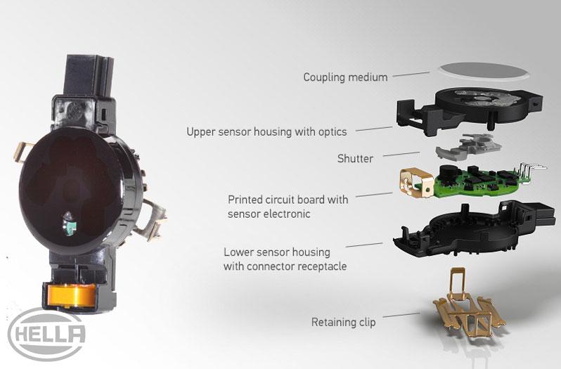 Rain sensor & headlight sensor testing   HELLA