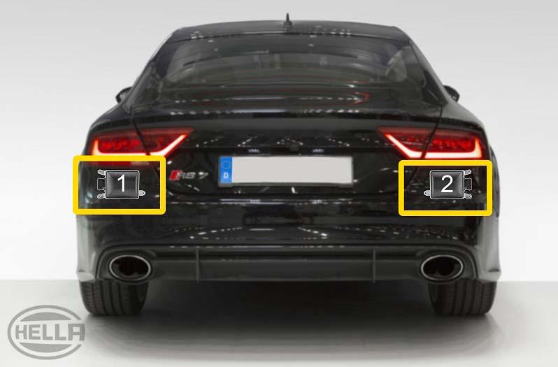 Sicherheit Parksensor Auto Toter Winkel Überwachung Ultraschall Spur Wechsel