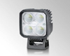 The compact Q90C LED work light from HELLA.