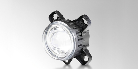Innovative 90 mm L4060, round LED headlamp from HELLA