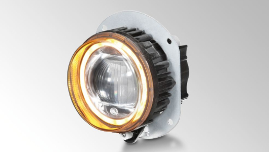 The LED module L4060 -  innovative LED addition to the 90 mm series from HELLA