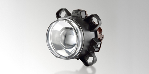 Modular 90 mm performance front headlamp, round, from HELLA